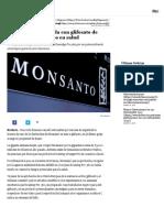 Francia Veta Herbicida de Glifosato de Monsanto Por Riesgos en Salud