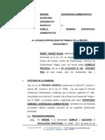 Demanda Contenciosa Administrativa 24 - Reiney Chavez Rojas - Procurador
