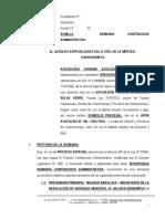 DEMANDA CONTENCIOSA ADMINISTRATIVA 25 - ASOCIACION TURISMO ECOLÓGICO SELVA VERDE.docx