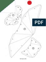 dinosaurio de papel