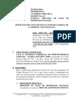 Demanda Laboral 13 - Pago de Beneficios Sociales - Jose Epfanio Arqurño