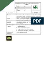 SOP Pengiriman Sampel Kimia