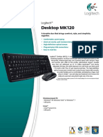 LOGITECH® DESKTOP MK120