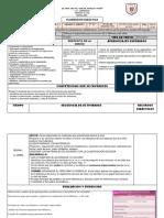 Formato para Planeacion Didáctica