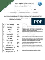 Examen Parcial Computacion 1 Con Respuestas