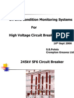 Online Condition Monitoring Systems for High Voltage Circuit Breakers
