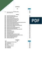 Arancel Particular Clinica Astra 2018