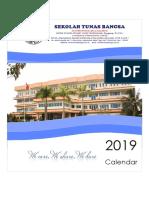 Calendar TB 2019