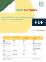 afrancesados - bônus 1 - falsos amigos em francês