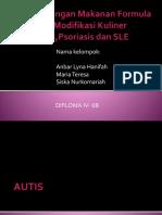 Autis, Psoriasis,Lse Kel 10