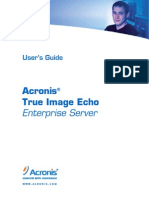 TrueImage Enterprise Server Echo