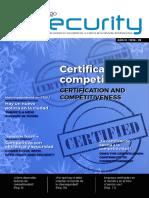 Certificación y Competitividad en Seguridad - Revista - Ing. Elmer Tigre