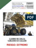 1B PST Cambio de Tolva (GIRANDO en Taller)