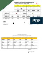 Jadwal Pelajaran Kelas IV Sdn Karangasem III No