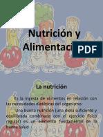 La Alimentación y Nutriciónn