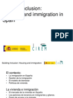 Presentación del estudio español durante la Conferencia final del Proyeto Building Inclusion