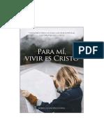 Para Mi Vivir Es Cristo