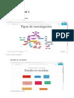 TIPOS DE INVESTIGACIÓN UNADM