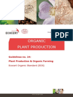 Organic Plant Production