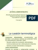 Justicia Administrativa, Alumnos Derecho Administrativo