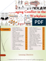 # Managing Conflict in the Workplace