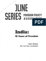 Paul Grimes--India 15 Years of Freedom