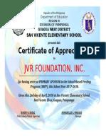 Certificate Template Performance Award v.1