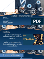 Group 3 Strategy Implementation