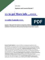 Lanoxin Trouble Bipolaire and Lanoxin Retrait