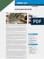 Dólar_ Las Causas de La Nueva Mini Corrida - Ambito
