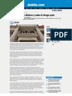 Caen Bonos en Dólares y Sube El Riesgo-país - Ambito.com