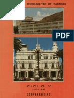 Seminario Cvico Militar de Canarias Conferencias Ciclo V
