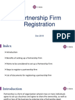 Partnership Firm Registration | Documents Required For Partnership Firm