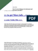 Virility Pills Resultats d'Essais Cliniques de Traitement and Virility Pills Et La Pression Arterielle