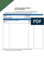 Worksheet Format