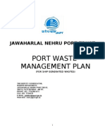 JNPT's Waste Management Plan