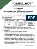 Pengumuman Jadwal Ujian SKB