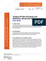 Engine RT-flex Practical & Operation Advanced(5 Days)_Tailor Made(Rev1)