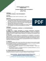 3.- Derecho Procesal Funcional (Primera Parte)