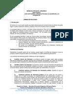 1.- Derecho Procesal Organico (Primera Parte)