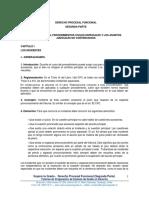4.- Derecho Procesal Funcional (Segunda Parte)