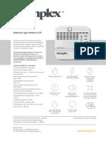 Fisa Detector gaz metan HD100