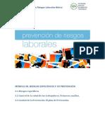 MODULO III Riesgos Especificos y Su Prevencion PARTE I