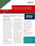 Vsp g Series Hybrid Flash Midrange Cloud Solutions Datasheet