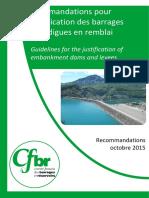 Recommandations Cfbr 2015 Remblai