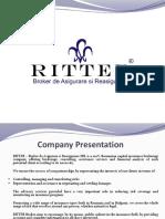 Ritter Insurance Broker Presentation