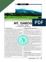Profile Mt Isarog