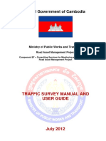 Traffic Survey Manual and User Guide