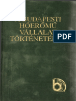 A Budapest Hőerőmű Vállalat Történetéből
