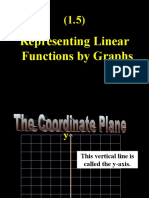 (1.5) Representing Linear Functions by Graphs